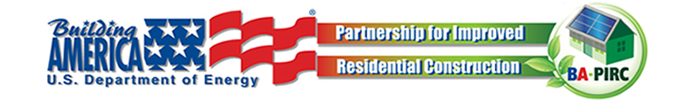 The Building America Industrialized Housing Project Logo.